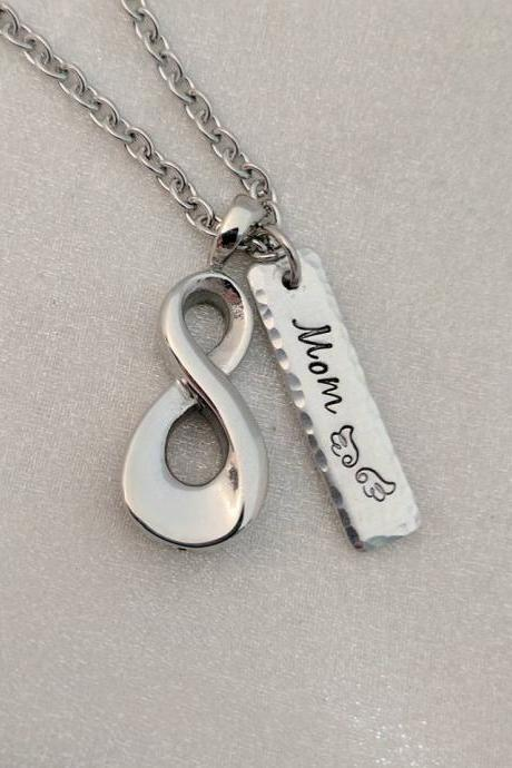 Infinity Urn Necklace - Personalized Urn Jewelry - Sympathy Gift - Ash Holder Necklace - Cremation Jewelry - Urn for Ashes - Loss Keepsake
